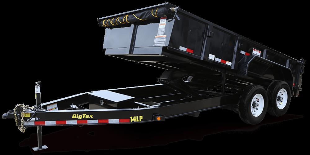 Dump Trailer 7x14 Advantage Equipment